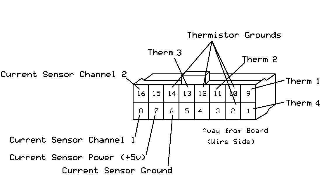 thermistor connector diagram thermistor diagram