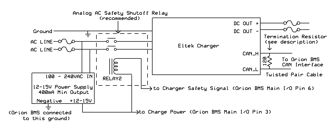 interfacing with eltek chargers orion li ion battery management system rh orionbms com 3s BMS Wiring-Diagram Verucci Wiring Diagram